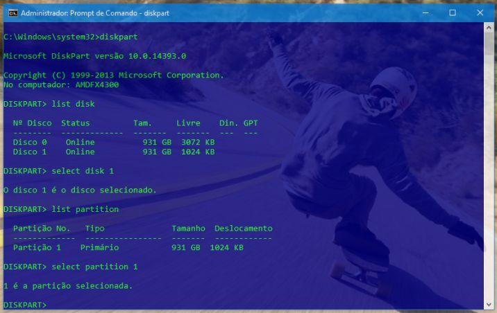 comandos-diskpart