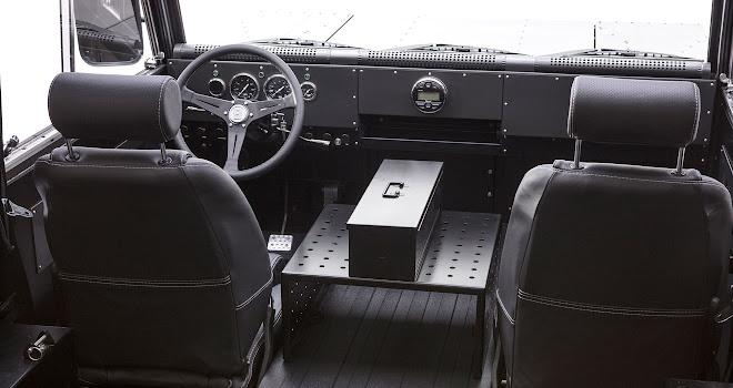 Bollinger Motors B1 cabin