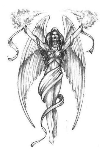 Angel And Fairy Tattoo Design Motif Best Blog