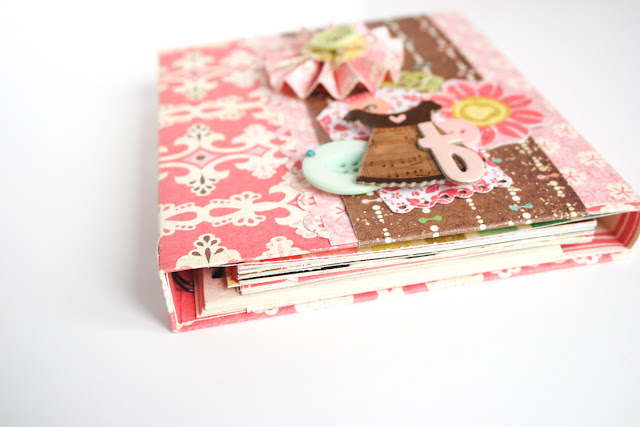 scrapbook mini album f by kushi | www.kkushi.com