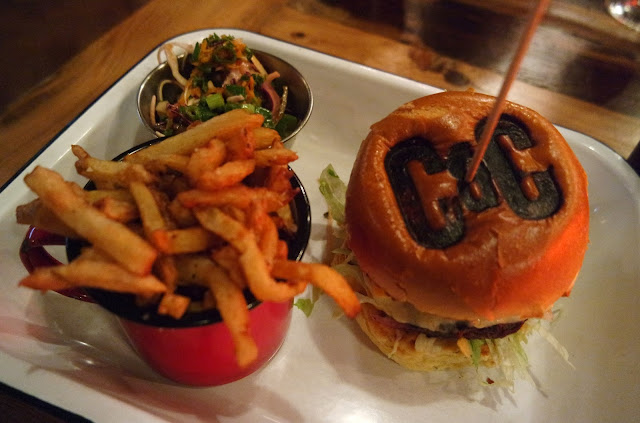 Canteen and Cocktails - Norton Restaurant Review Teesside Burger