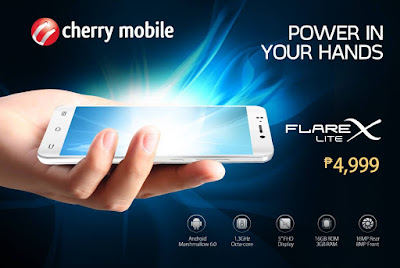 Cherry Mobile Flare X Lite Announced; 5-inch FHD, Octa Core, 3GB RAM for Php4,999