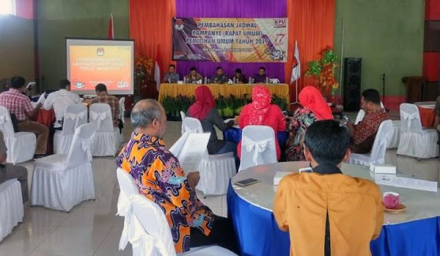 Koordinasi Jadwal Kampanye Rapat Umum (RU) Pemilu 2019