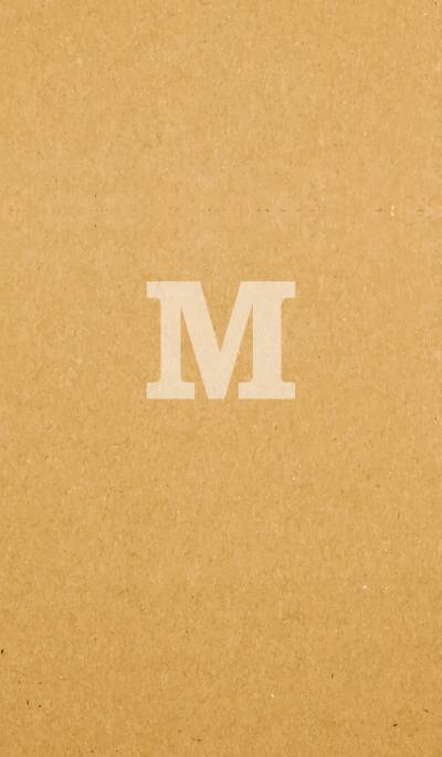 Paper Craft INITIAL -M-