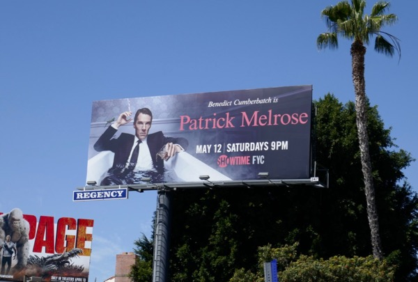 Patrick Melrose season 1 billboard