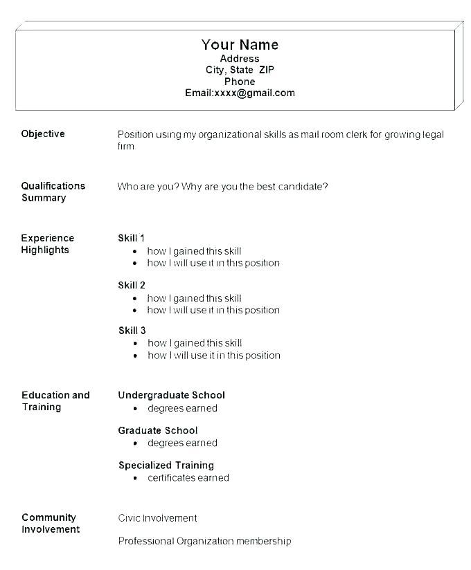Professional Resume Samples Free Template Classic Blue Cv Doc
