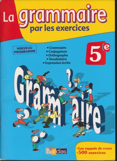 تعلم قواعد اللغة الفرنسية