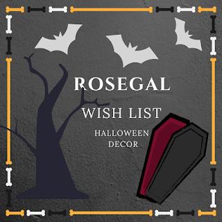 Dekoracje Halloweenowe z Rosegal