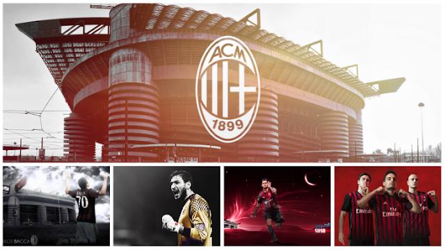 PES 2017 AC Milan Team StartScreen Pack By Minosta4u