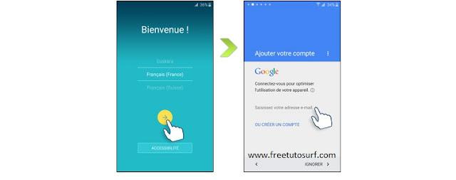 bypasser la protection de compte google (frp) sur les téléphones samsunggoogle verify account