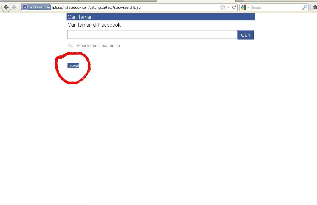 Cara Daftar Facebook Menggunakan Nomor Hp Dari Komputer Atau Laptop