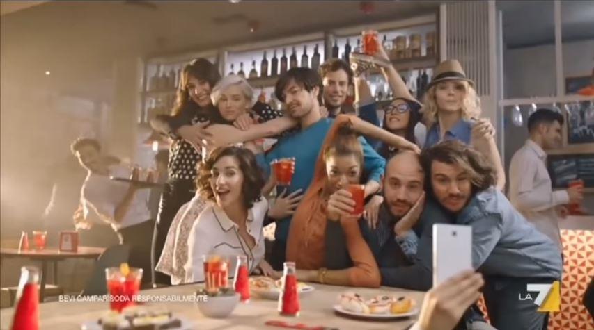 Canzone Pubblicità Campari spot soda & vino bianco musica - Marzo 2017