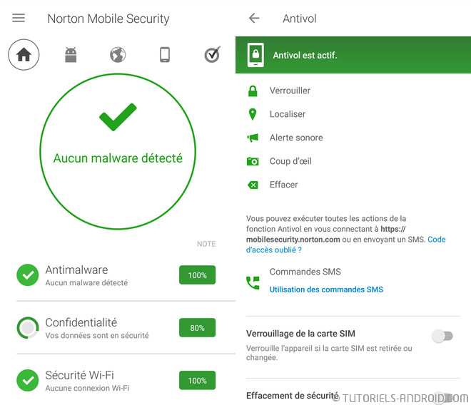 Norton mobile security Android antivirus