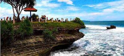7 Wisata Alam Terbaik Di Pangandaran Pantai Batu Hiu