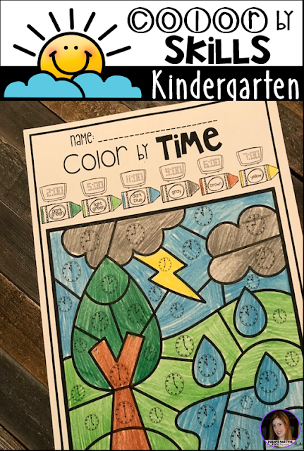 The boys and girls will love working on number to the hour and matching analog and digital time with this printable.