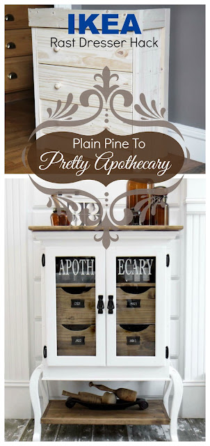 IKEA Rast Dresser Hack, Apothecary Cabinet Bliss Ranch