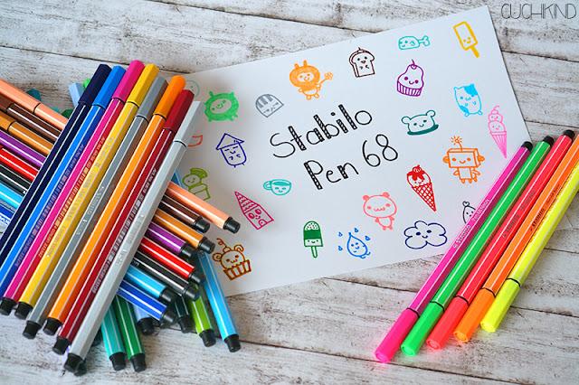 Stabilo Pen 68