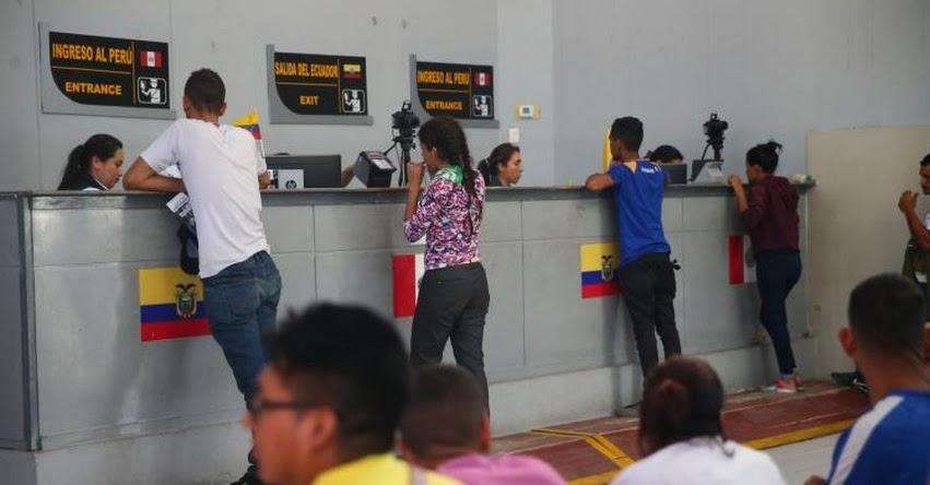 SOLO CON PASAPORTE: Desde hoy ya no habrá ingreso libre a Perú de Venezolanos