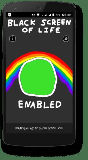 black screen of life apk download