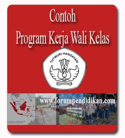 Contoh Program Kerja Wali Kelas