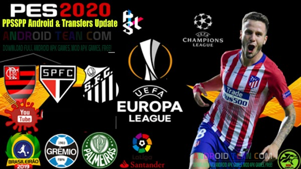 PES 2020 PPSSPP Camera PS4 Best Graphics New Face Kits 2020 & Transfers Update
