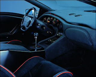 Dream Fantasy Cars-Diablo SV interior