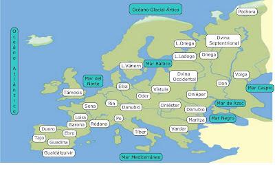 Resultado de imagen de rios de europa