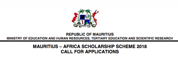 Government of Mauritius Undergraduate Scholarships
