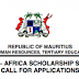 Government of Mauritius Undergraduate Scholarships for Africans 2018
