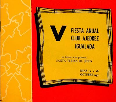 Opúsculo de la Fiesta Anual de 1957