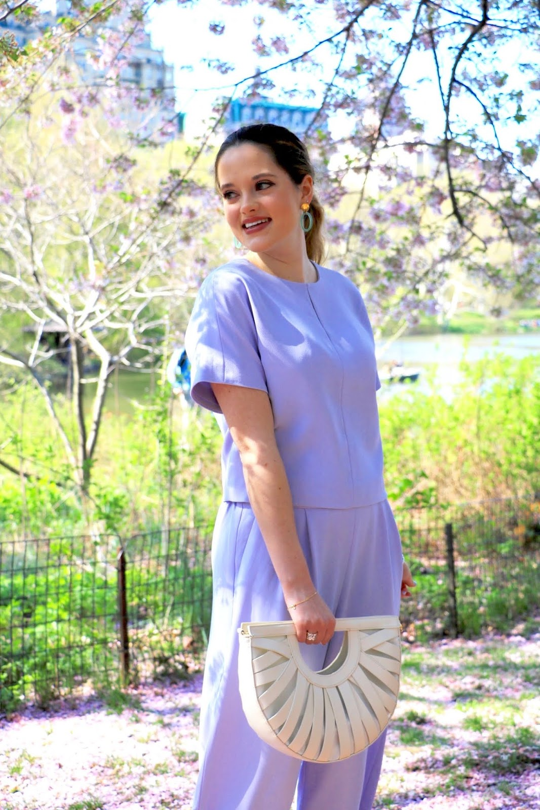 Nyc fashion blogger Kathleen Harper's 2019 spring work outfit idea