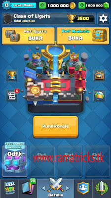 Pure Royal APK (Clash Royale Private Server)