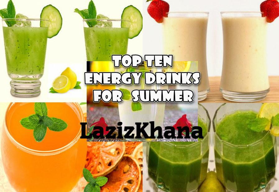 Top 10 Summer Drinks Recipes - गर्मी की टॉप 10 शरबत रेसिपी
