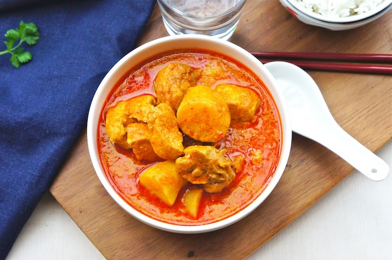 Seasaltwithfood Chinese Style Chicken Curry