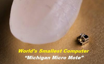"""World's Smallest Computer """"Michigan Micro Mote - GK Today June 25, 2018 (Tamil)"""