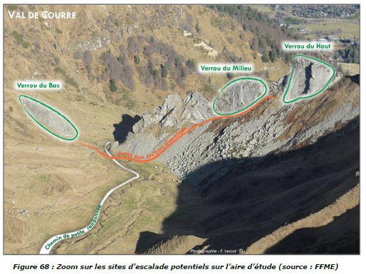 Les sites d'escalade interdits dans le Sancy