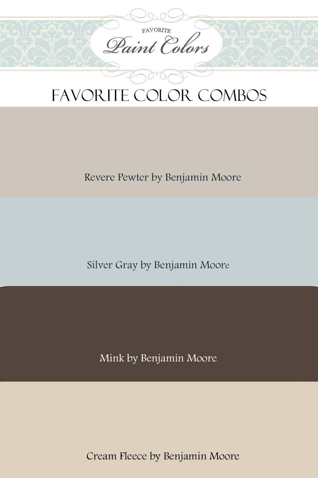 Painting Kitchen Cabinets Blue Color Combination For Revere Pewter Favorite Paint