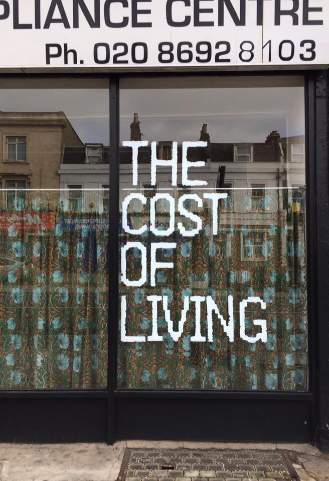 the cost of living A cost-of-living index is a theoretical price index that measures relative cost of  living over time or regions it is an index that measures differences in the price of .