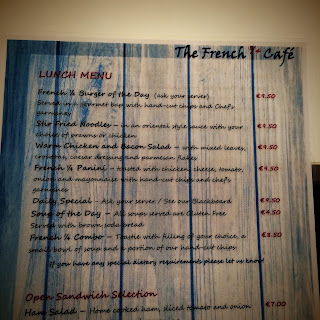 French Quarter Cafe Portarlington Menu