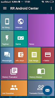 Cara Transaksi Pulsa Menggunakan Aplikasi Android 2