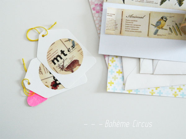 inspiration  - creativity - collages - bohème circus - masking tape