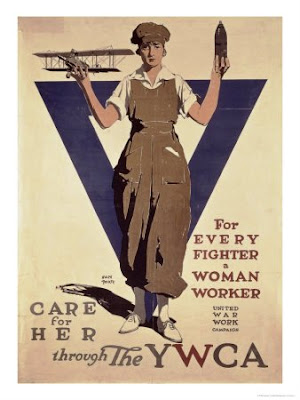 Uno de los primeros posters de la YWCA