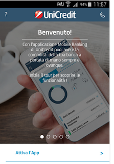 MOBILE BANKING UNICREDIT - APP PER CLIENTI DI BANCA UNICREDIT
