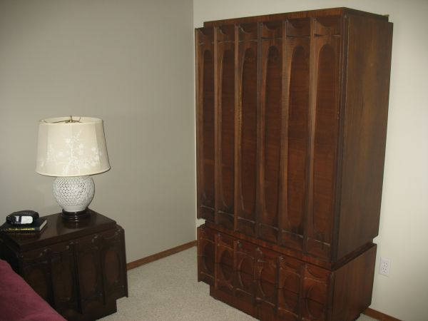 Mid Century Sensibilities: Brutalist Bedroom Set Find On