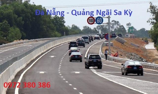 Tuyến đường cao tốc Đà Nẵng đi Quảng Ngãi Sa Kỳ