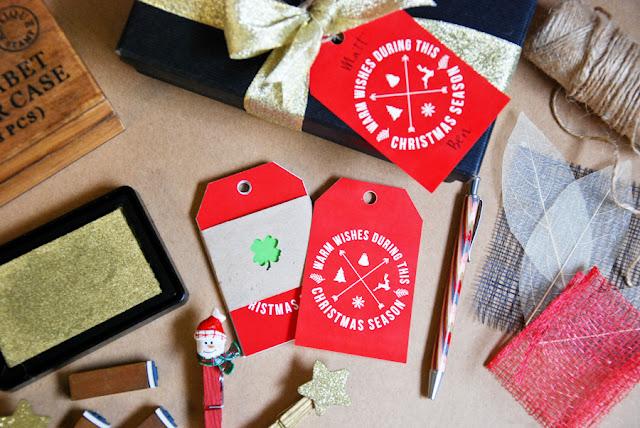 Tiffokeeffo hipster Christmas gift tags