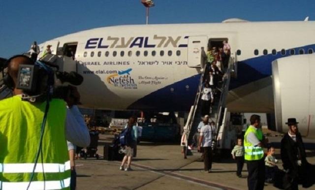 Israel Bawa Masuk 220 Yahudi Dari Amerika Ke Palestin