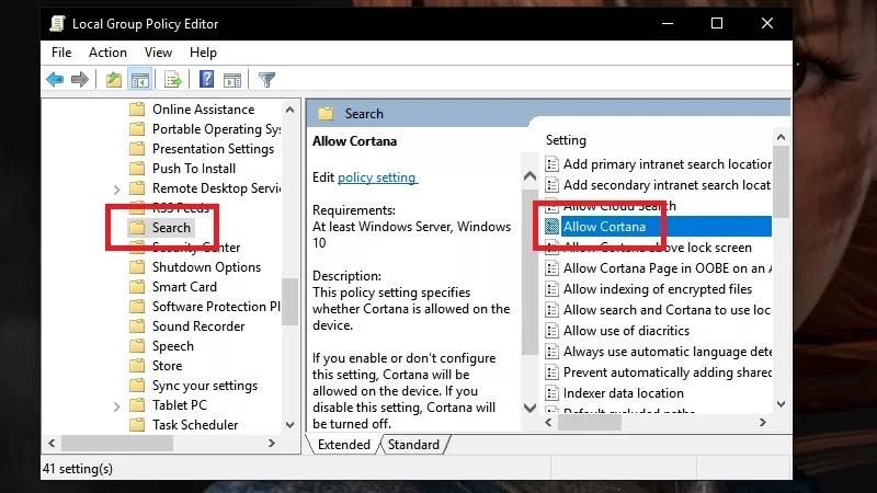 Cara Termudah Mendisable Cortana Di Windows 10