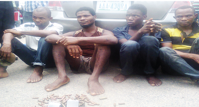 ebonyi highway robber arrested