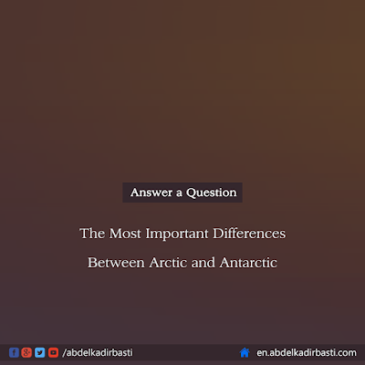 The Most Important Differences Between Arctic and Antarctic
